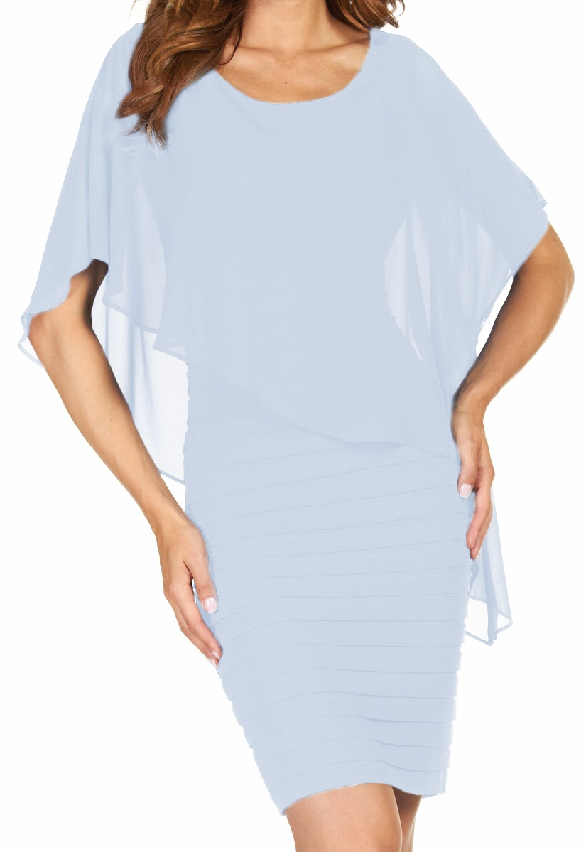 FRANK LYMAN Womens Tiered Dress, Style 51027, 6 Colors Available