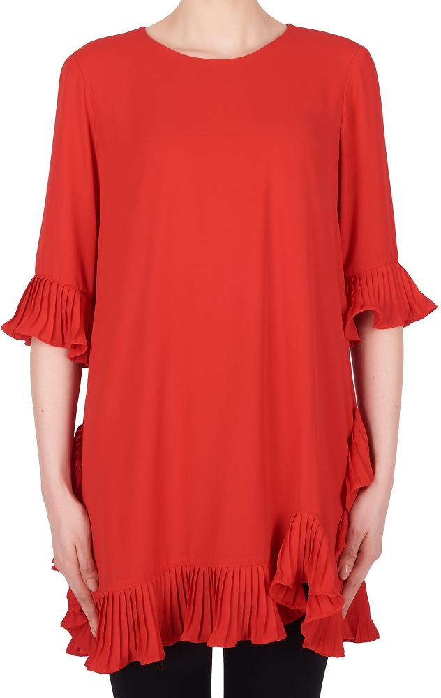 Joseph Ribkoff Womens Chiffon Tunic, Style 191239, 2 Colors Available