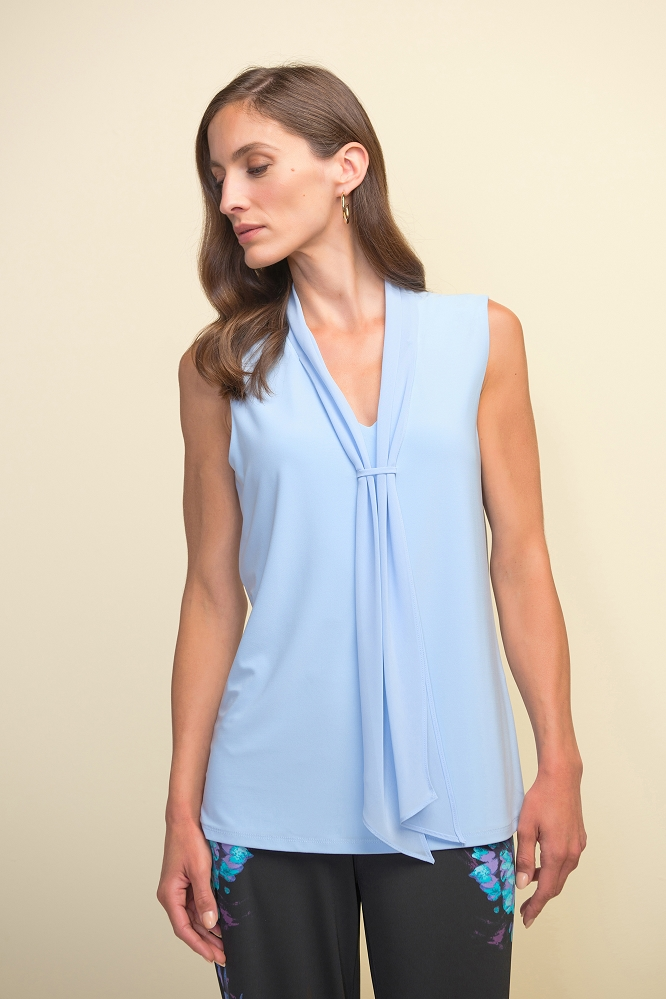 Joseph Ribkoff Womens Sleeveless Top Style 211229 Color Moonlight