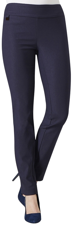 Lisette L. Tall Size True Straight Pants Style 1715T Color Navy