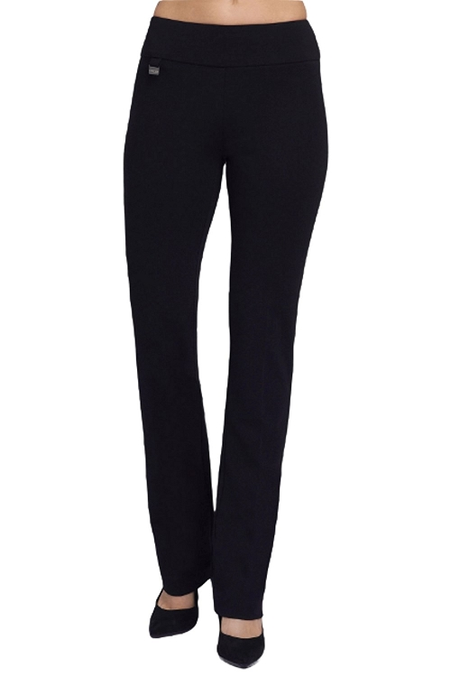 Lisette L. Tall Size True Straight Pants Style 1715T Color Black