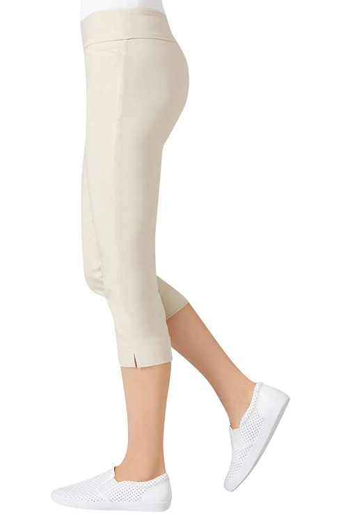 Lisette L. Essentials, Capri Pants Style 26067 Jupiter Cotton Stretch, 4 Colors Available