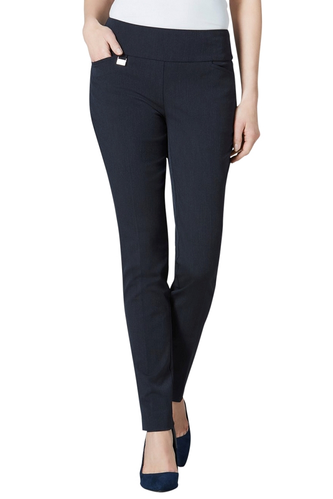 Lisette L Essentials, Skinny Leg Pants With 2 Front Pockets, Gaby Stretch, Style 2229, 7 Colors Available