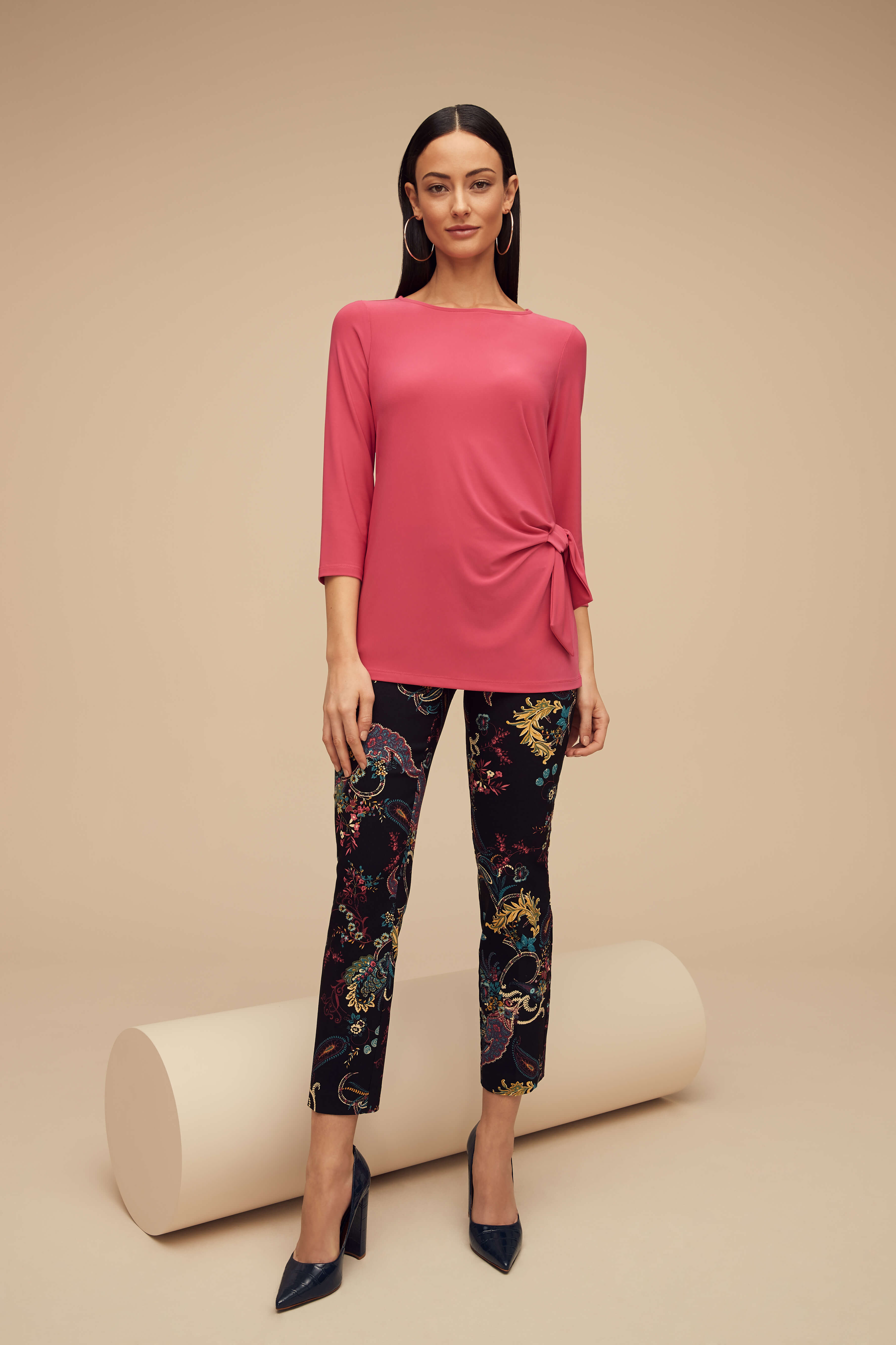 Lisette L Essentials, Tops Style 171308 Emma Jersey Knit