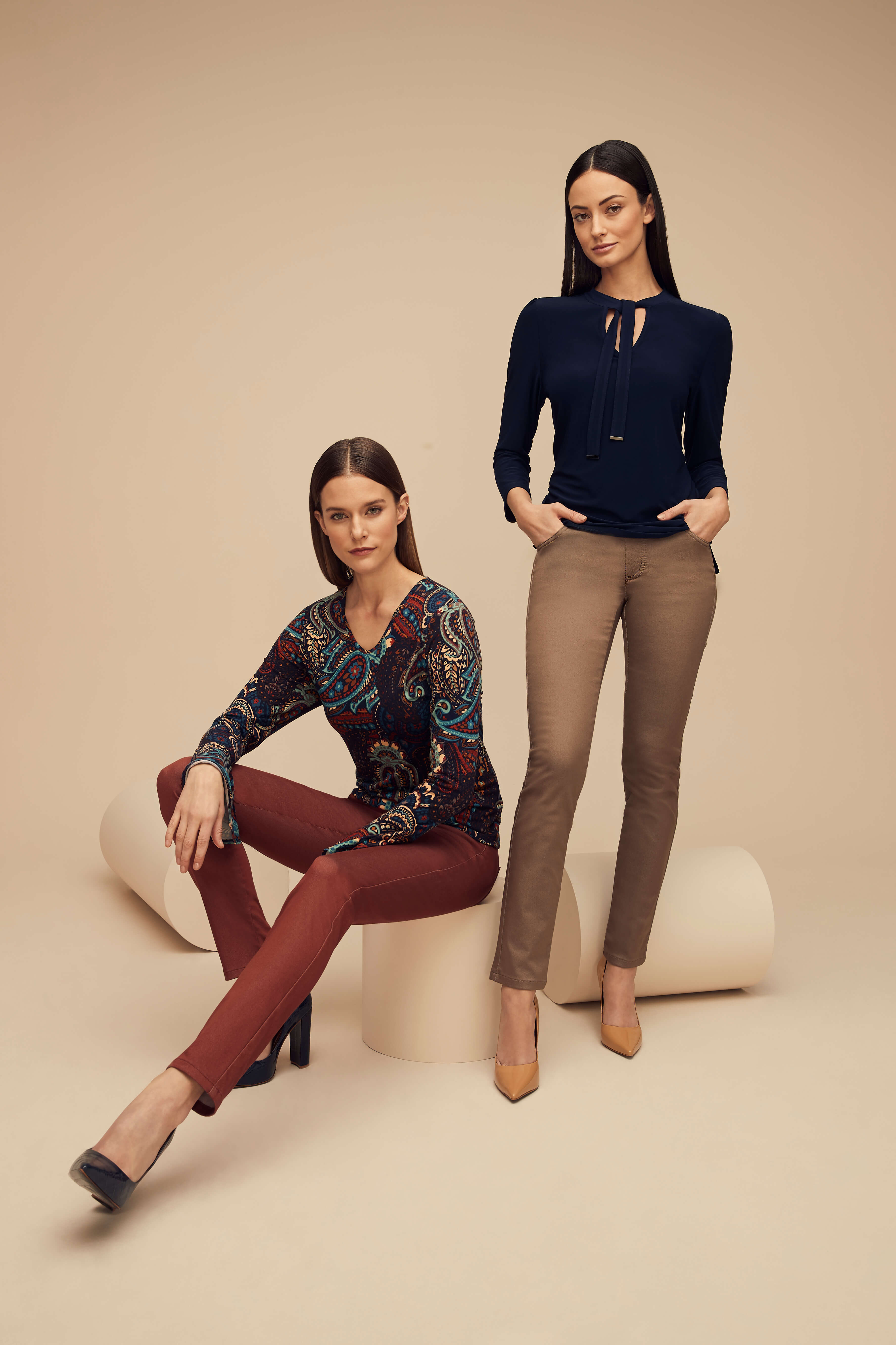 Lisette L. Skinny Jeans, Style 607930 Flattery Denim, 2 Colors Available