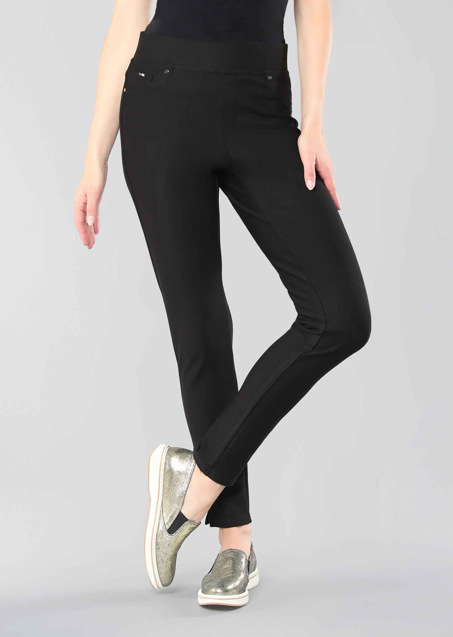 Lisette L. Thinny Pant Style 733684 Wellington Twill Color Black