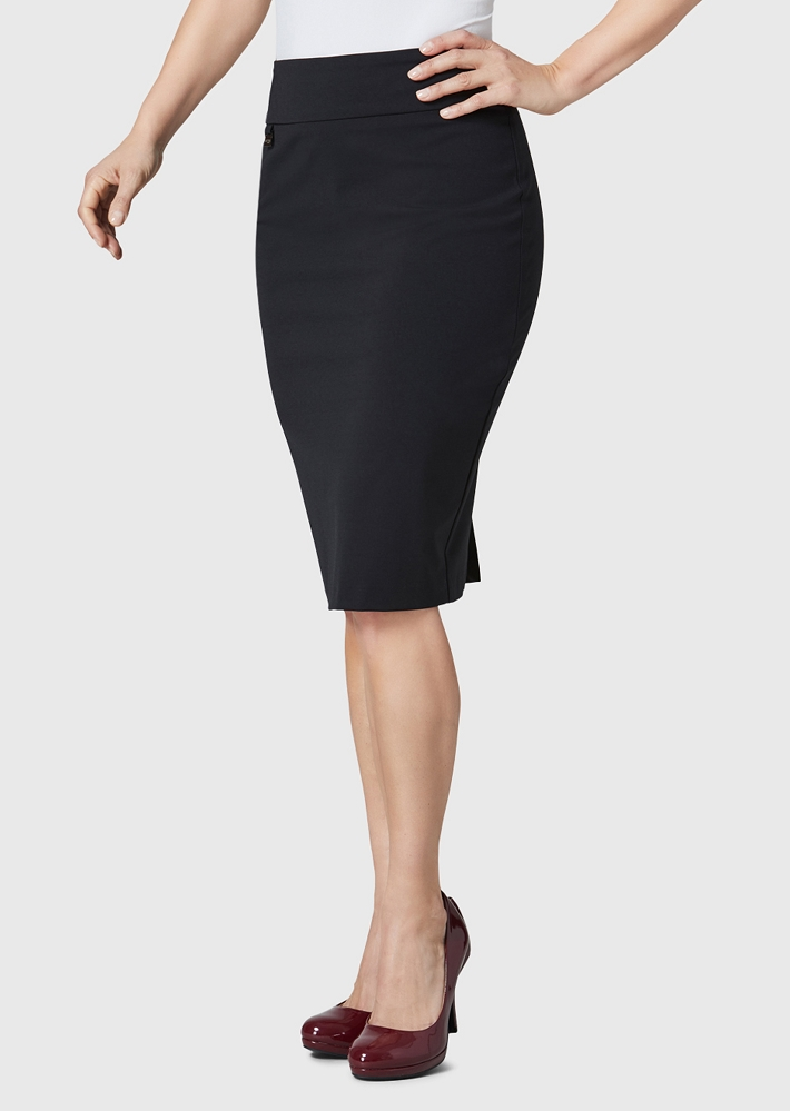 Lisette L Essentials Skirt, Style 25893 Hollywood Color Black