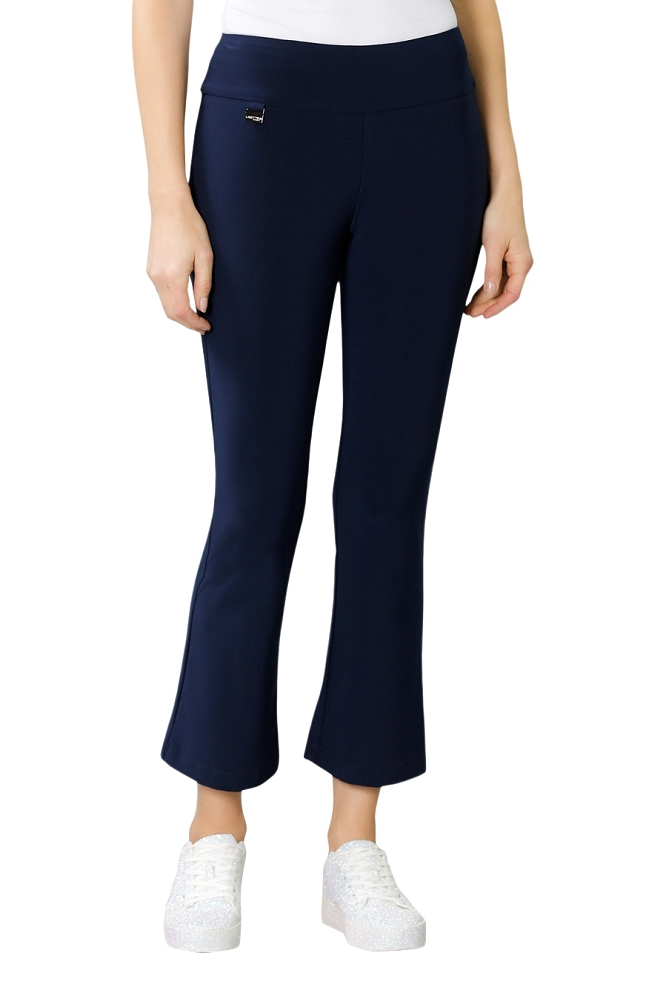 Lisette L, Crop Ankle Flare Pants, Style 171747 Emma Knit, 2 Colors Available