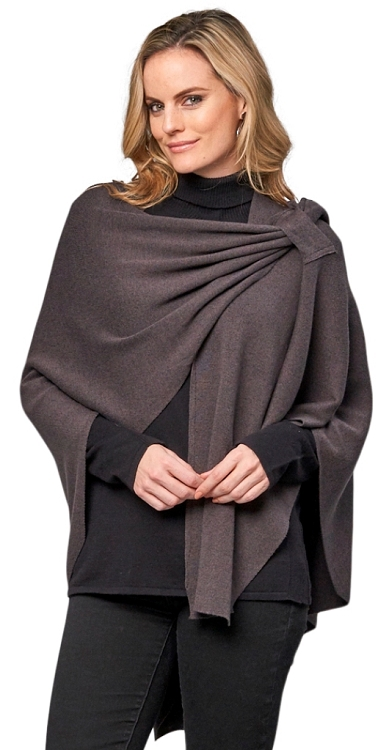 Dream Covi Wrap, One Size Fits All, Color Charcoal
