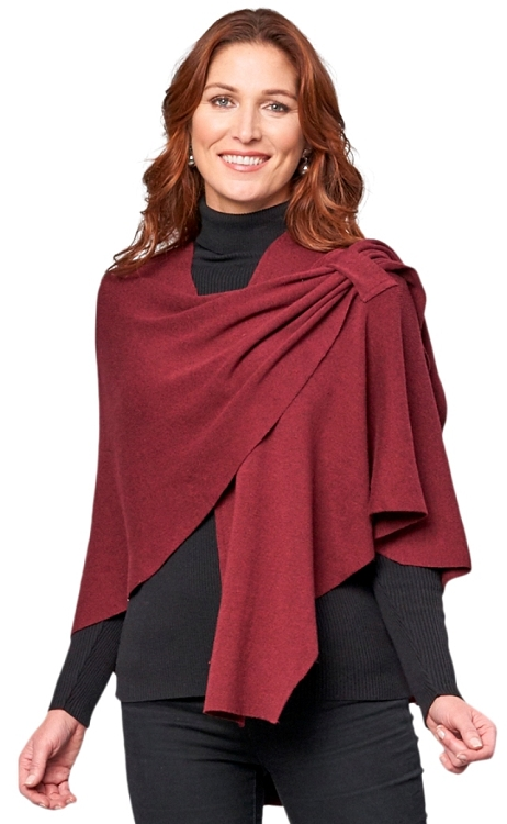 Dream Covi Wrap, One Size Fits All, Color Merlot