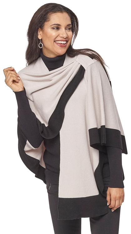 Dream Covi Wrap, One Size Fits All, Color Beige/Black