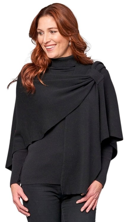 Dream Covi Wrap, One Size Fits All, Style 22081 Color Black, Multiple Colors Available