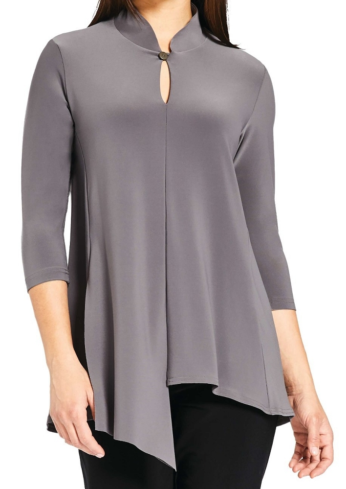 Sympli Double Over Top 3/4 Sleeves Style 22156-2, 3 Colors Available