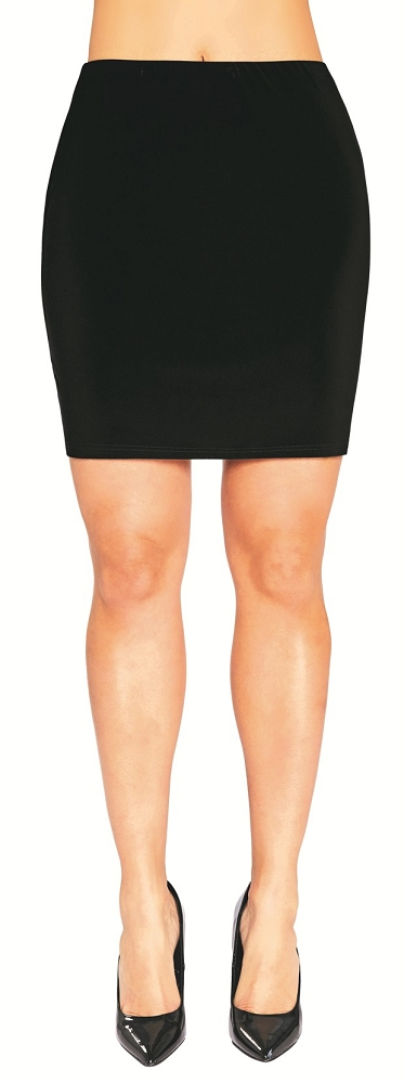 Sympli Womens Mini Skirt, Style 2641, 2 Colors Available
