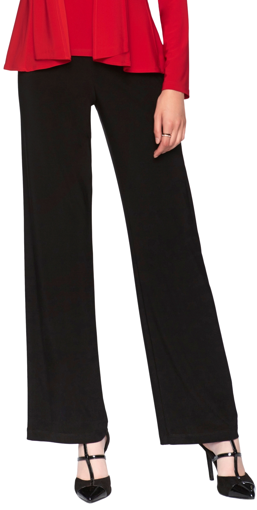 Frank Lyman Womens Pull On Straight Leg Pant Style 006, 3 Colors Available