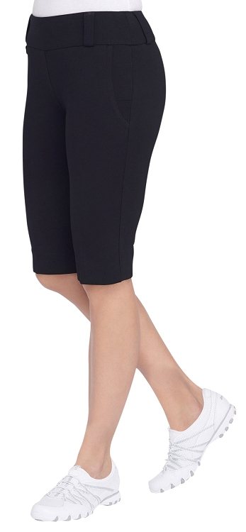 LISETTE L SPORT ESSENTIALS, BERMUDA STYLE LS4220 WITH FLEX POCKETS, INSEAM 13 1/2
