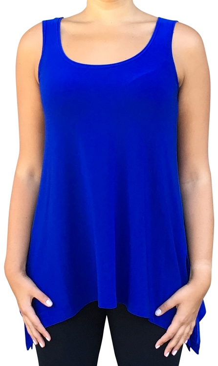 Sympli Sleeveless Mimic Top, Style 2172, 5 Colors Available
