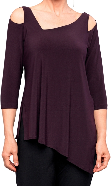 Sympli Focus Tunic 3/4 Sleeves, Style 2344-2, 7 Colors Available