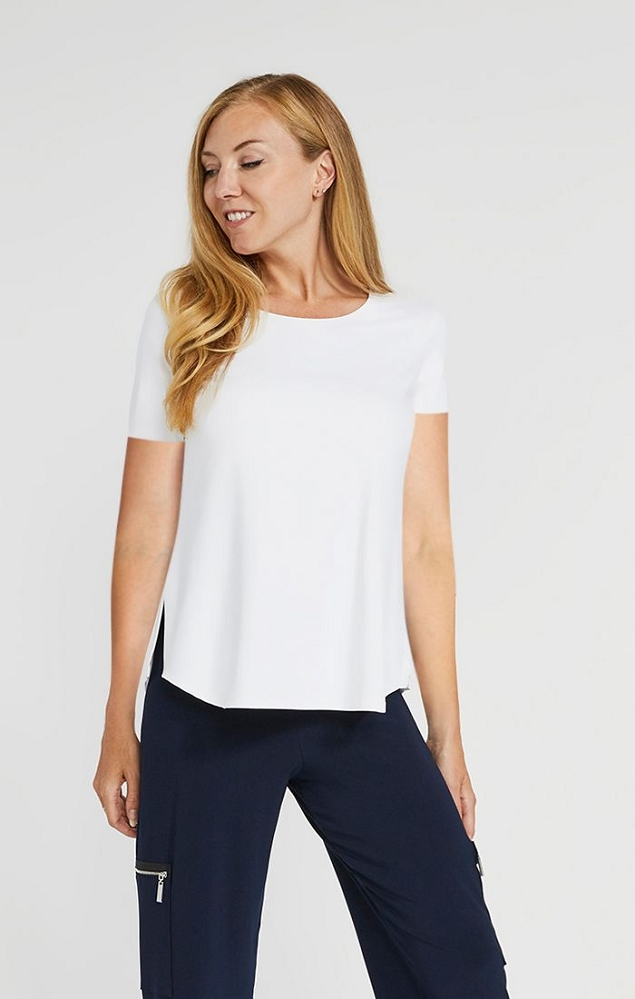 Sympli Womens Go To Classic Relax, Short Sleeve Style 22110R-1, 3 Colors Available