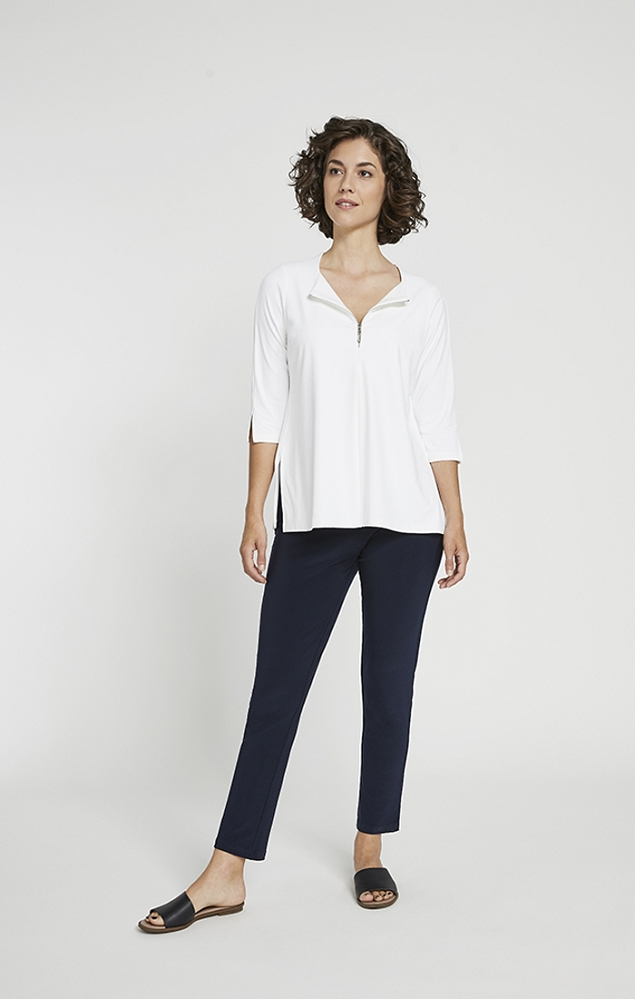 Sympli Womens Zest It Up T, 3/4 Sleeves Style 22216Y-2, 4 Colors Available