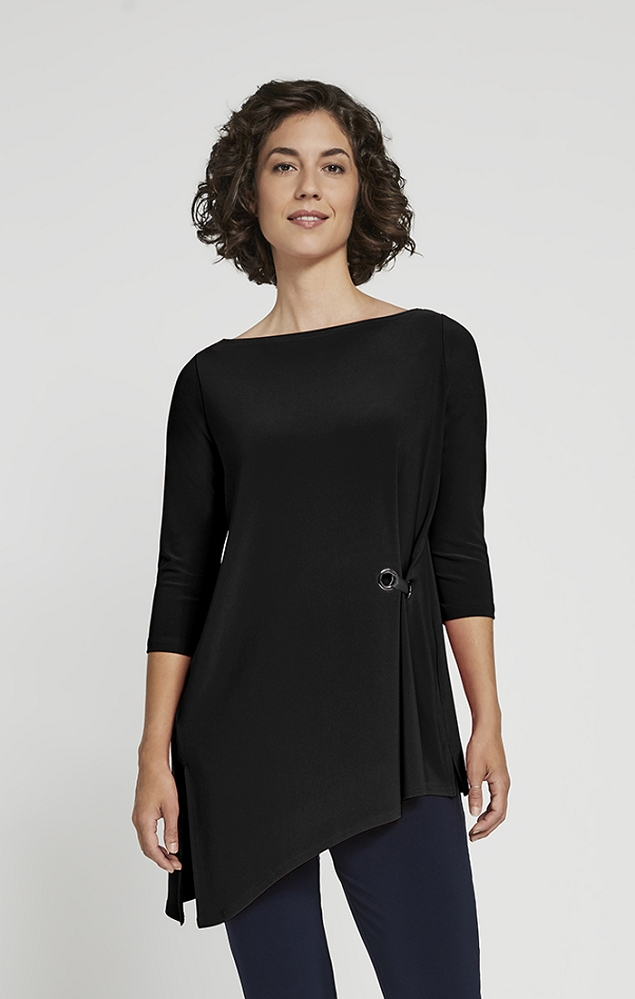 Sympli Halo Angle Tunic Style 23168Y-2, 3 Colors Available