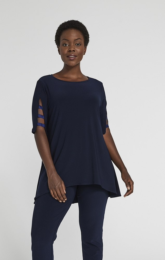 Sympli Capture Tunic Style 23169-4, 3 Colors Available