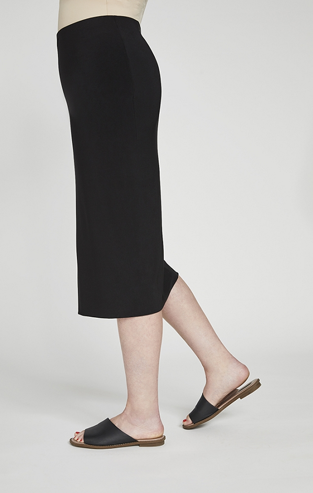 Sympli Womens Tube Skirt Midi, Style 2634, Color Black