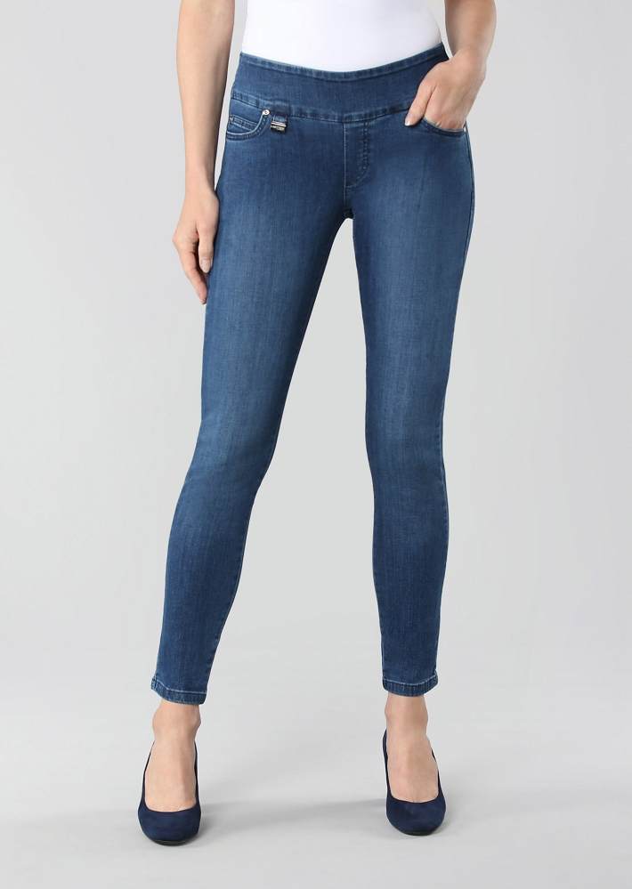 Lisette L. Essentials, Skinny Leg Jeans Style 455796 Betty Denim, 3 Colors Available