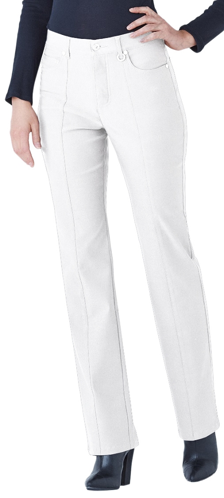 Simon Chang Micro Twill Straight Leg Pant, Style 5302 Regular, 33