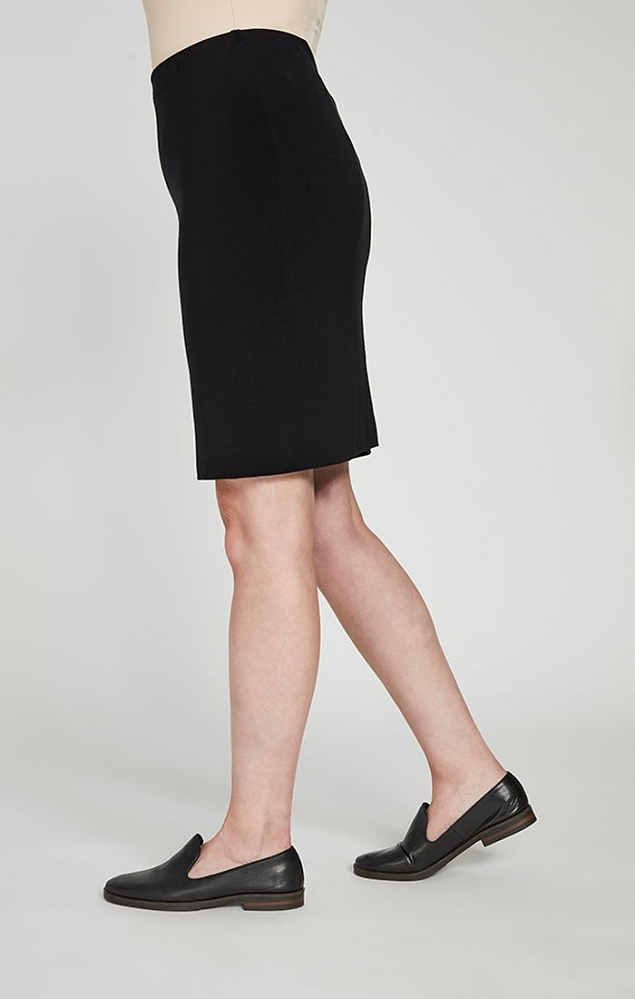 Sympli Womens Tube Skirt Short, Style 2634S, Color Black