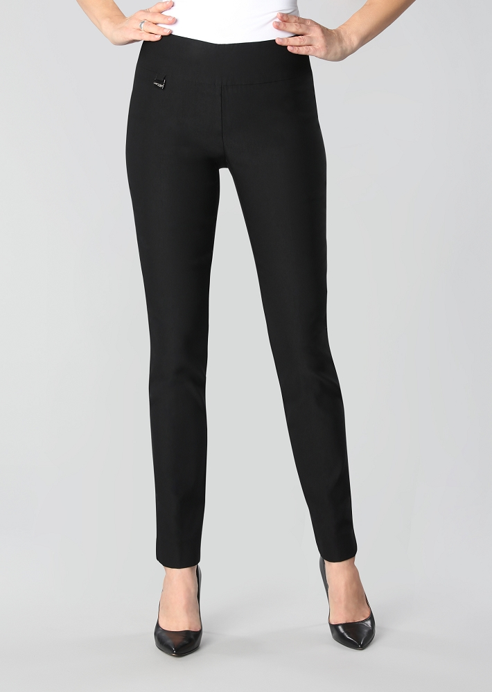 Lisette L. Fall 2020 Essential, Slim Ankle Pant Style 71701 Mercury Super Stretch Color Black