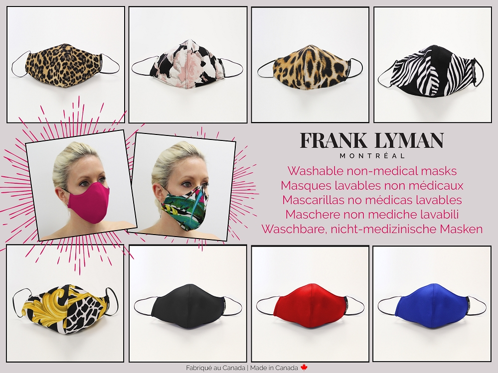 Frank Lyman Non-Medical Unisex Face Mask - Assorted Pack, 10 Units