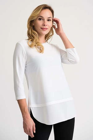 Joseph Ribkoff Womens Blouse Style 201534, 3 Colors Available
