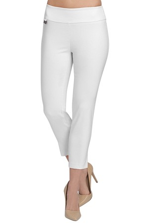 Lisette L Essentials, Thinny Crop Pants Style 26002 Jupiter Cotton Stretch (6 Colors Available)