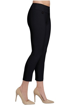 "Lisette L Essentials Thinny Crop Pants, Magical Lycra, Style 802, Inseam 25"", Leg Opening 6 1/4"" (6 Colors Available)"