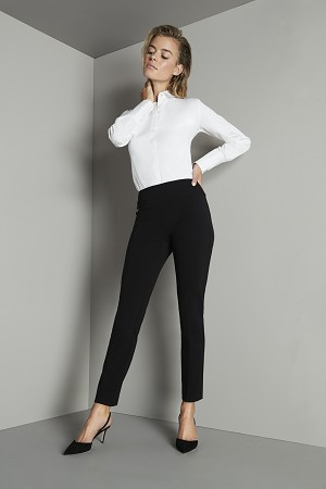 Lisette L Essentials, Slim Ankle Pants, Mila Stretch, Style 53101, 3 Colors Available
