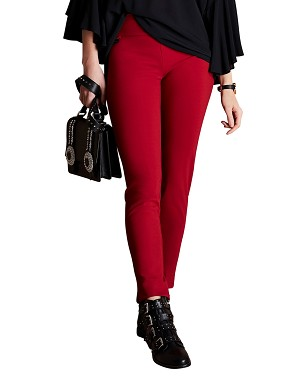 Lisette L Essentials, Slim Ankle Pants, Kathryn PDR, Style 17601, 7 Colors Available
