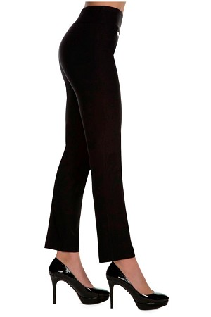 "Lisette L Essentials, Slim Ankle Pants, Magical Lycra, Style 801, Inseam 28"", Leg Opening 7"" (15 Colors Available)"