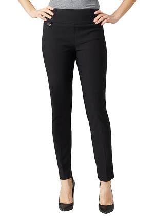 "Lisette L Essentials, Slim Ankle Narrow Pants, Magical Lycra, Style 855, Inseam 28"", Leg Opening 6 1/4"" (11 Colors Available)"