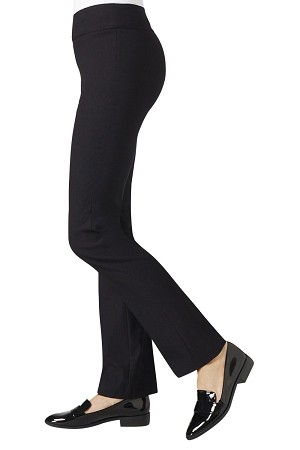 "Lisette L Essentials True Straight Pants, Magical Lycra, Style 886, Inseam 31"", Leg Opening 8"" (3 Colors Available)"