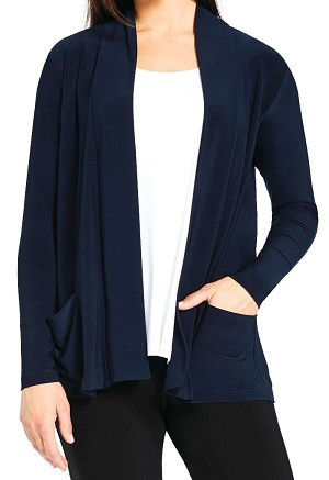 Sympli Womens Go to Cardigan Short, Style SY25112, 2 Colors Available