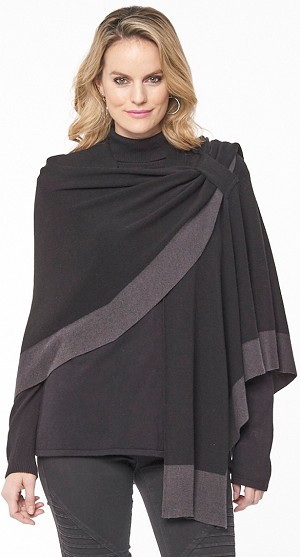 Dream Covi Wrap, One Size Fits All, Color Black/Charcoal