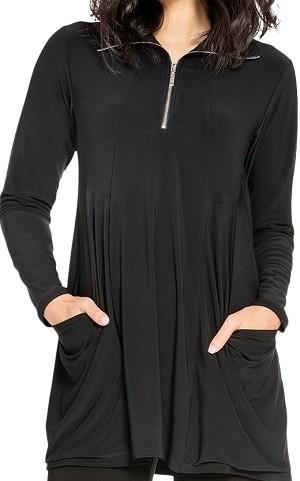 Sympli Womens Double Take Tunic Style 23142-3, 2 Colors Available